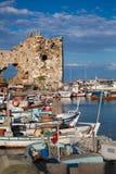 Yumurtalik harbour Royalty Free Stock Photography