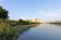 Yun dang湖 库存图片
