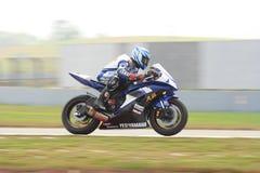 YUN de Zhou Hao em Yamaha Foto de Stock Royalty Free
