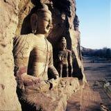 yun grottoes шатии Стоковая Фотография