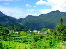Yun he village Royalty Free Stock Images