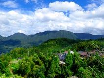 Yun he village royalty free stock image