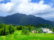 Yun he village stock images