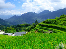 Yun he village Royalty Free Stock Image