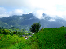 Yun he village stock photography