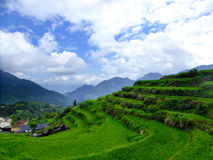 Yun he village Royalty Free Stock Photography