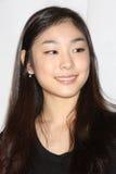 """Yuna Kim de """"na conferência de imprensa toda essa Los Angeles 2010 do patim"""" imagens de stock"""