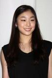 "Yuna Kim de ""na conferência de imprensa toda essa Los Angeles 2010 do patim"" fotos de stock royalty free"