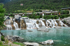 yunan瓷的lijiang 库存图片