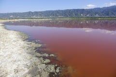 Yuncheng Salt Lake Royalty-vrije Stock Fotografie