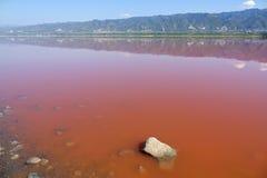 Yuncheng Salt Lake Royalty Free Stock Image