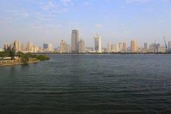 Yundang jezioro Obrazy Royalty Free