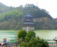 Yunfeng Water Pavilion Royalty Free Stock Image