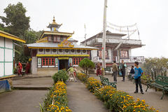 Yung Drung Kundrak Lingbon Monastery, West Sikkim, India Royalty Free Stock Image