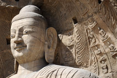 Yungang Caves. The photography place is the chinese shanxi province datong,yungang caves royalty free stock image
