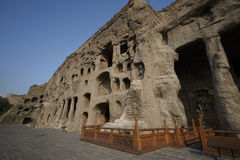Yungang caves Royalty Free Stock Photography