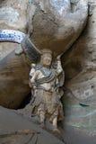 Yungang grot jamy statuy kamienia antyk Zdjęcie Stock