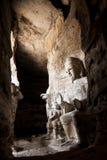 Yungang grottabild i det Shanxi landskapet Royaltyfri Bild