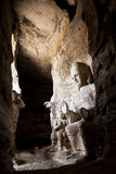 Yungang grottoes picture in Shanxi Province. Yungang grottoes in shanxi Buddha images Royalty Free Stock Image