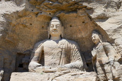 Yungang Grottoes in Shanxi Royalty Free Stock Image