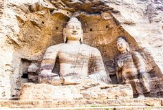 Yungang Grottoes Royalty Free Stock Images