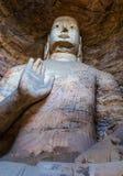 Yungang grottor Royaltyfria Foton