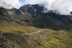 yungas долины Боливии стоковые изображения rf