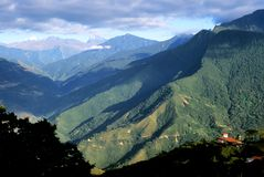 Yungas Valley, Bolivia. This image was taken in Coroico, Bolivia and shows the beautiful Yungas Valley Royalty Free Stock Photography