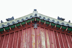 Yungneung and Geolleung Royal Tombs Korean traditional architecture in Hwaseong, Korea Royalty Free Stock Image