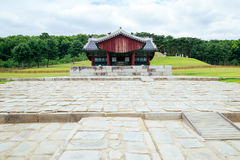 Yungneung and Geolleung Royal Tombs Korean traditional architecture in Hwaseong, Korea Stock Photography