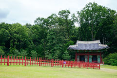 Yungneung and Geolleung Royal Tombs Korean traditional architecture in Hwaseong, Korea Stock Image