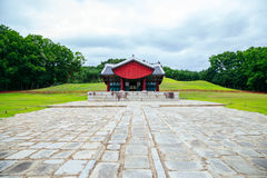 Yungneung and Geolleung Royal Tombs Korean traditional architecture in Hwaseong, Korea Stock Photos