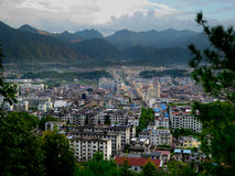 Yunhe County view Royalty Free Stock Images