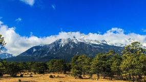 Yulong mountain scenery Stock Images