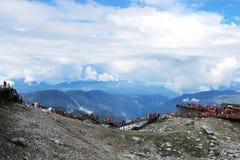 Yunnan, βουνό χιονιού δράκων νεφριτών της Κίνας Lijiang Στοκ φωτογραφία με δικαίωμα ελεύθερης χρήσης