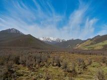 Yunnan berg, Kina royaltyfri fotografi