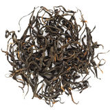 Yunnan Black tea Fengqing Hong Cha. Isolated Stock Photos