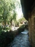 Yunnan, China, a cidade antiga de Lijiang foto de stock