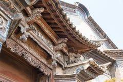 YUNNAN, CHINA - 22 DE MARÇO DE 2015: A CASA de OUYANG em Shaxi v antigo Fotos de Stock Royalty Free