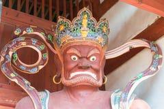 YUNNAN, CHINA - 20 DE MARÇO DE 2015: Templo de Xingjiao em Shaxi vi antigo Fotografia de Stock