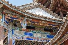 YUNNAN, CHINA - 20 DE MARZO DE 2015: Pueblo antiguo de Shaxi una ANC famosa Imagen de archivo libre de regalías
