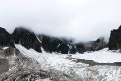 Yunnan, China Lijiang Jade Dragon Snow Mountain fotografia de stock