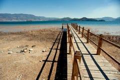 Yunnan, China, Lugu Lake scenery Stock Images