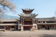 YUNNAN, CHINA - 20. MÄRZ 2015: Altes Dorf Shaxi eine berühmte ANC Lizenzfreie Stockfotografie