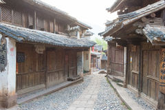 YUNNAN, CHINA - 21. MÄRZ 2015: Altes Dorf Shaxi eine berühmte ANC Stockbild