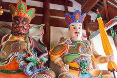 YUNNAN, CHINA - 21. MÄRZ 2015: Baoxiang-Tempel an Shibaoshan-Berg Lizenzfreies Stockbild