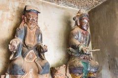 YUNNAN, CHINA - 21. MÄRZ 2015: Baoxiang-Tempel an Shibaoshan-Berg Lizenzfreie Stockfotografie