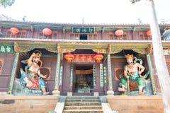 YUNNAN, CHINA - 21. MÄRZ 2015: Shibaoshan-Berg (Shibaoshan Shik Lizenzfreies Stockbild