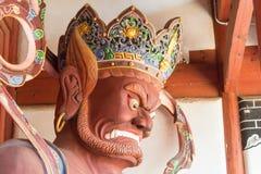 YUNNAN, CHINA - 20. MÄRZ 2015: Xingjiao-Tempel bei Shaxi altes VI Stockfoto