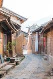 YUNNAN, CHINA - MAR 21 2015: Shaxi Ancient village. a famous Anc Stock Photos